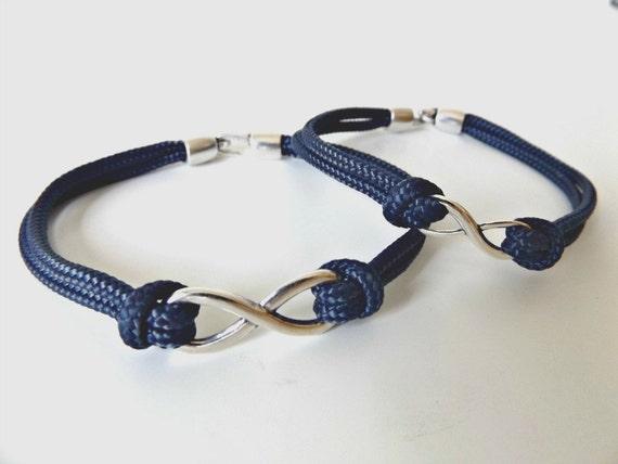 couples bracelet paracord bracelet paracord infinity
