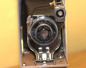 Ansco Traveler Camera  Canvas Rare