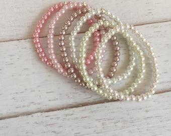 Baby bracelets,girl bracelets,baby girl gift,newborn bracelet beaded baby bracelets/girl bracelets-toddler bracelet hospital bracelet