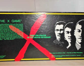 Malcolm X -In The X Game Board Game