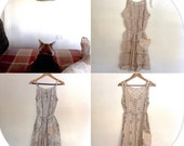 Women's Summer Vintage Crochet & Lace Dresses.Size 8 to 12.