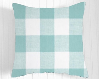 Decorative Throw Pillows Accent Pillows Throw Pillow Cushion Covers 18 x 18 Inches - Blue  and White Geometric Design By The Pillow Co