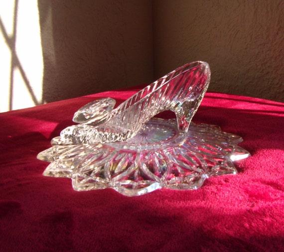 Cinderella glass slipper wedding reception shower