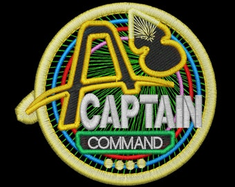 Artemis Captain Insignia Station Patch