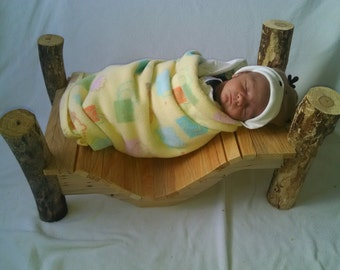 newborn custom photo prop bed