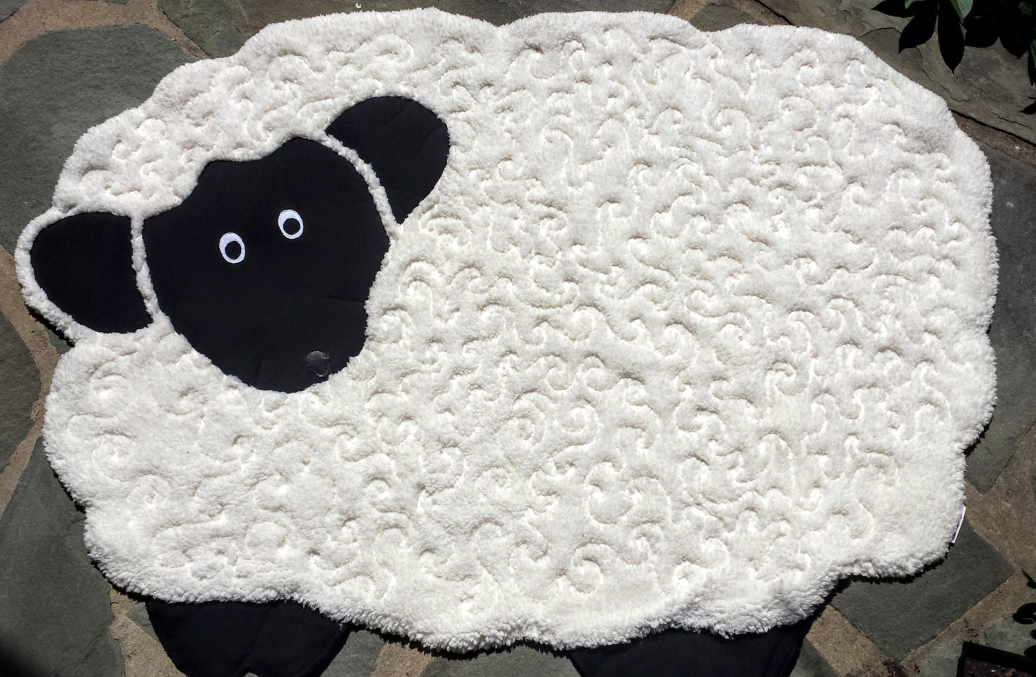 Baby Sheep Quilt Made Out Of Sherpa Lamb Quilt Easter
