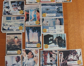 SALE 1969 Man on the Moon Non-Sport Cards Set of 23 plus 3 doubles
