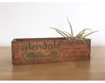 Lovely Wooden Cheese Crate - Great as a Planter
