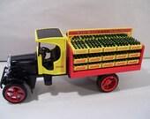 Vintage Ertl Coca Cola Die-cast Delivery Truck Metal Coin Piggy Bank 1994