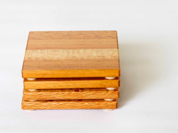 Wood Coasters Wooden Coasters Surface Protection Drink