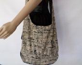 Zelda hobo sling bag / Hippie shoulder bag