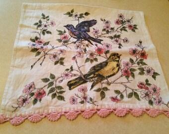 Vintage Linen Dish Towel!
