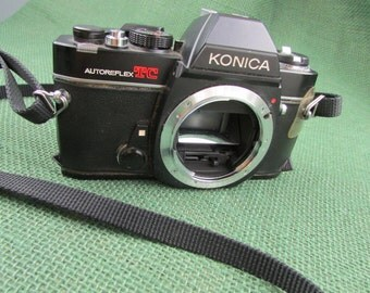 Konica Autoreflex TC camera body ONLY - Not tested - sold as is