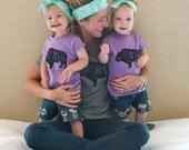 Girls purple Wild Roamer shirt