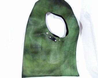 Handmade Rubber Handbag // Inner tube Handbag // Inner tube Shoulder Bag // Rubber Handbag