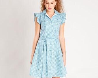 Sewing Pattern Dress and Blouse Franzi (Printed Pattern)