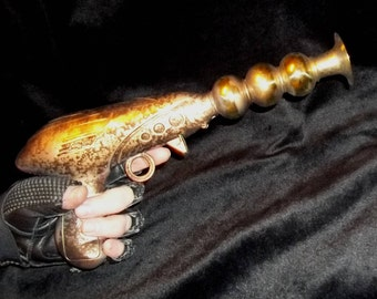 Retro Ray Laser Gun Science Fiction Fantasy Custom Blaster Pistol #242 - OOAK