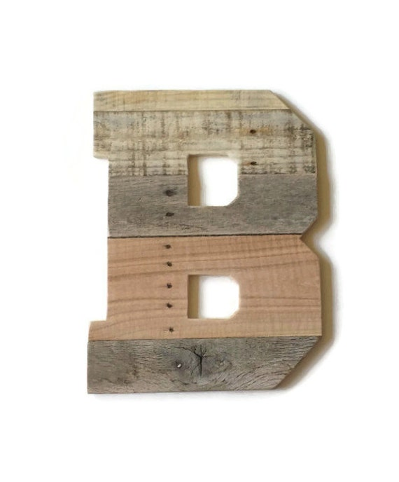 big wooden letters wooden letter b large rustic wood letter rustic home decor 17892