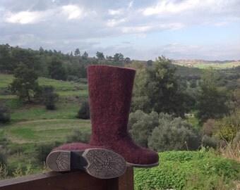 """Boots""""Bordo"""""""