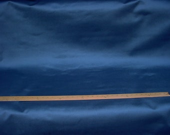 4-7/8 yards Perennials 990 Plushy in Denim - Indigo Blue Acrylic Outdoor Velvet Drapery Upholstery Fabric - Free Shipping