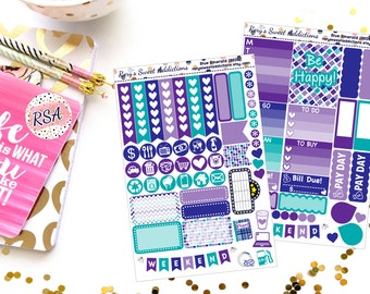 Blue Emerald - Weekly 2 Page Kit - {BE01 & BE02}
