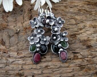 tourmalines -Earrings