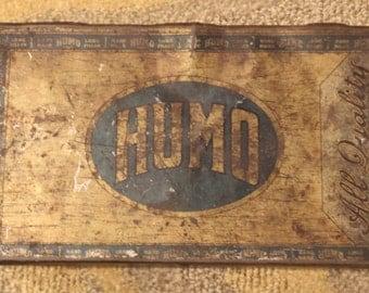 Vintage Mazer Cressman Humo Cigar Tin