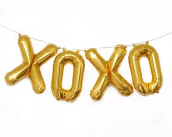 34 inch giant Foil letter/number balloon garland baby shower wedding parties birthdays