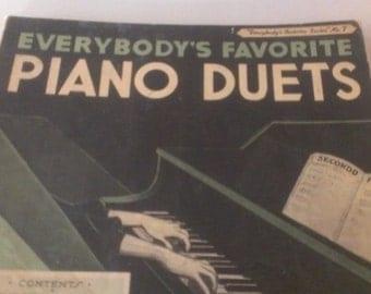 Everybody's Favorite Piano Duets