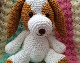 Toby the Spaniel Amigurumi Pattern