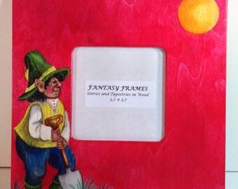 FANTASY FRAMES, Elf Gardener