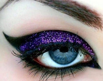EGGPLANT Cosmetic Glitter for Makeup, Eye Shadow, Lips, Nail Polish, Body Shimmer & Hair Sparkle (A011)