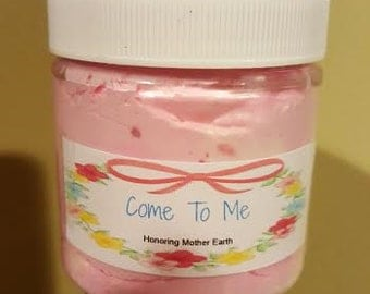 Come To Me, Body Butter, Whipped Body Butter, Skin, Lotion, Hoodoo, Pagan,Wiccan