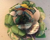 Hulk Comic Book Boutonniere
