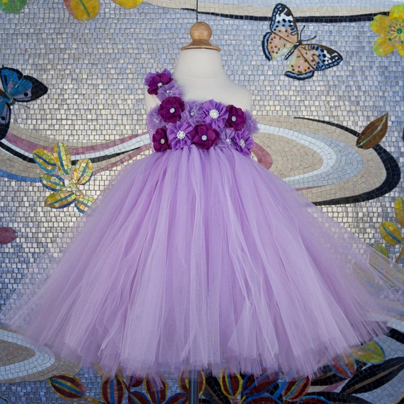 Lavender Toddler Flower Girl Dresses 67