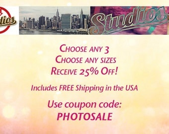 Sale - Buy 3 Get 25% Off, Coupon, Discount, Sale, FREE SHIPPING!