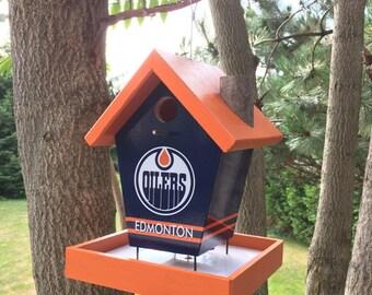 Edmonton Oilers Bird Feeder