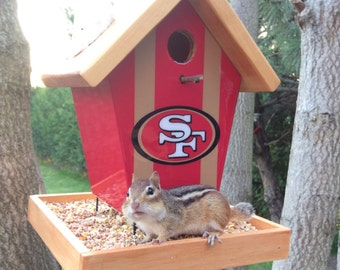 San Francisco 49ers Bird Feeder