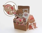 Patchwork Tabby Pin-Cushion Kit No.1 - The Original