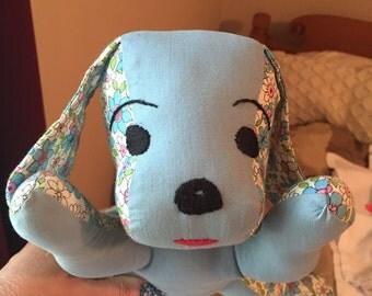 Soft Toy, Sleepy Puppy, Baby Gift, Stuffed Animal