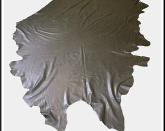 Glacier Wear Cow Leather Buckskin Hide Black lth1151
