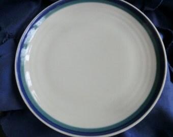 Two Large Pfaltzgraff Plates one damaged