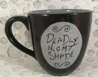 Nightmare Before Christmas Mug, Sally's Jars Insipred Mug