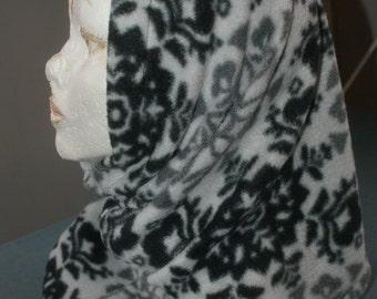 hood/scarf/hat cowl neck scarf