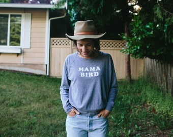 Mama Bird t-shirt, by The Bee & The Fox, Made in USA