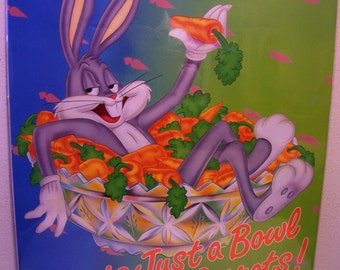 "BUGS BUNNY Vintage 1992 Poster 22"" x 28"" New In Original Packaging"