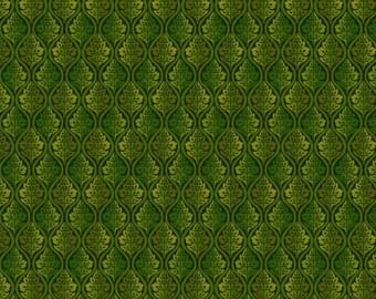 Autumn Abundance, 3339 66, Green by Jennifer Brinley for Studio E