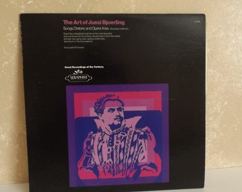 Vintage LP 33rpm Record The Art of Jussi Bjoerling Songs, Oratorio and ...  R-45
