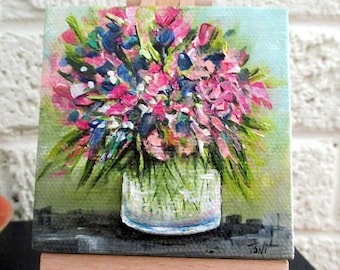 Floral Miniature Painting