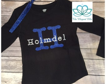 Holmdel Spirit wear childrens long sleeve  top